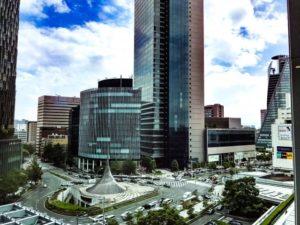 名古屋駅前風景